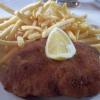 Schweineschnitzel, hausgemachter Kartoffelsalat