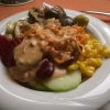 Schätzchens Salat vom Buffet