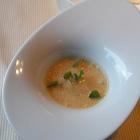 Foto zu Pfaffenberg: Küchengruß - Auster/Grüner Apfel/Estragon/Krustentierschaum