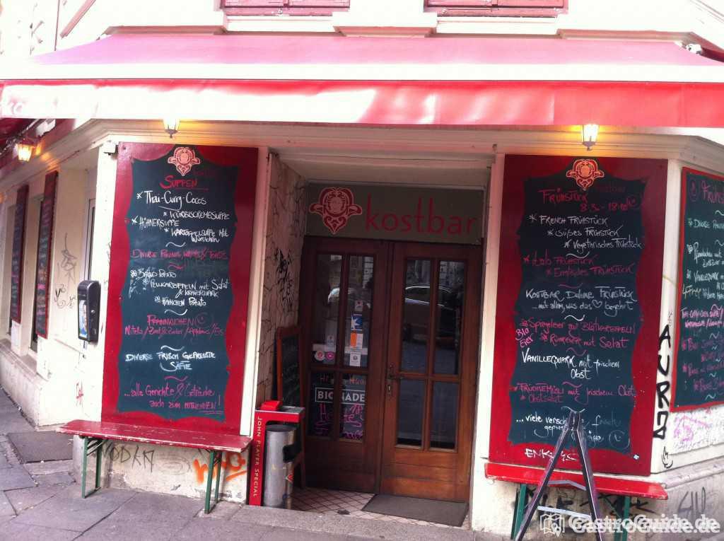 kostbar schanze restaurant bistro bar cafe in 20357 hamburg altona. Black Bedroom Furniture Sets. Home Design Ideas