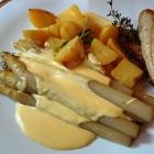 Foto zu Zur Weiher Schleife: Pfälzer Spargel, Kartoffeln, Rotbarbenfilet