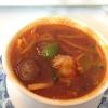 Tom-Yam-Gung (Zitronengrassuppe mit Großgarnele)