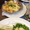 Bratkartoffeln zu Heringsplatte und Störtebekerspieß