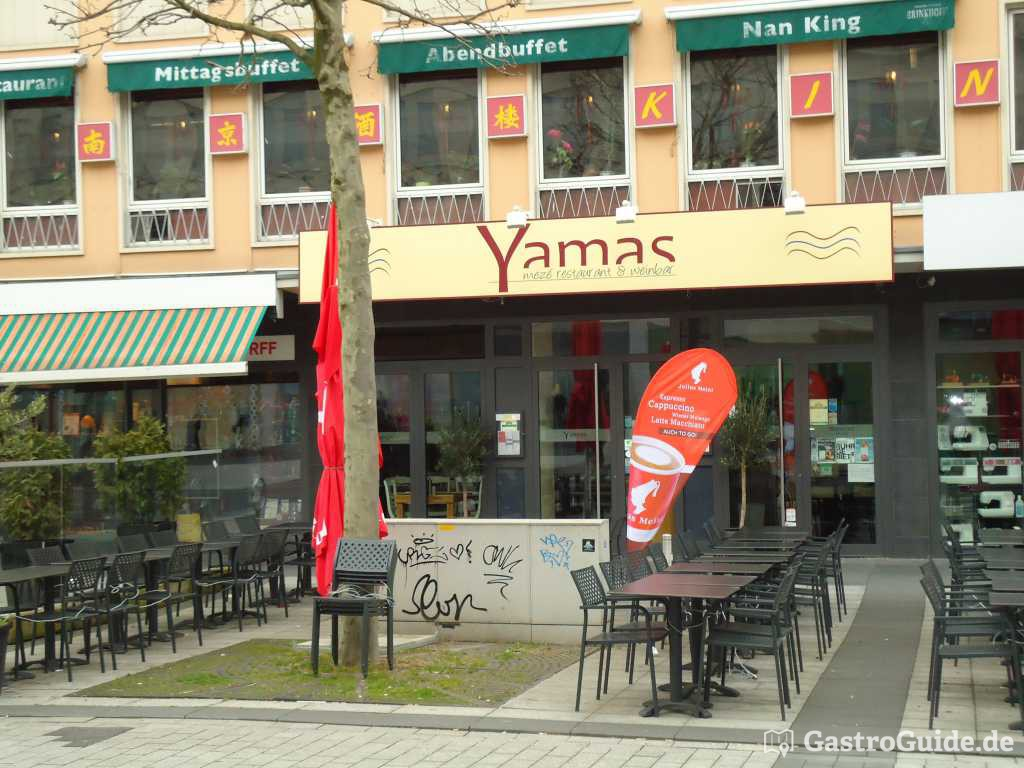 yamas mez restaurant weinbar restaurant in 44787 bochum. Black Bedroom Furniture Sets. Home Design Ideas