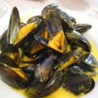Foto zu Gaststätte Valuta: Muscheln in Safransosse