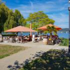 Foto zu Gallardo · Restaurante Mediterrano: gallardo Terrasse am See