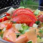 Foto zu Gaststätte Leierkasten: Salatteller ohne Thunfisch