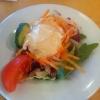 Salat vorweg