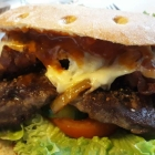 Foto zu Haus Bieger: American Rodeo Burger