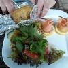 Lachs - Salat - Kartoffel