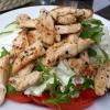 Salat - Hähnchenfleisch