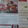 Die Zeitung - mit ausführlicher Speisekarte