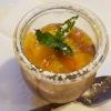 Mousse au Chocolate mit Erdbeer-Chilli-Sahne hier noch ohne Sahne