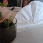 Foto zu Ehlener Poststuben: ich liebe Stoffervietten und echte Blumen ;-)