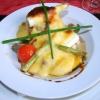 Klassisches Ragout fin im Pastetchen mit Sauce Hollandaise gratiniert
