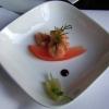 Amuse Krabbensalat mit Tomatendressing