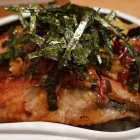 Foto zu Sushi Glas: Fetter Aal auf Reis. Oder: Absoluter Hochgenuss.