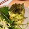 Avocado-Tatar mit seaweed
