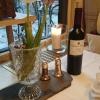 Pfeffermühle in der Weinflasche