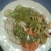 Salat vom Büffet