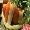Beilage zum Lamm:  Gemüse-Chartreuse
