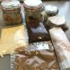 Die verpackten Speisen zum Abholen