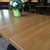 Unser Tisch vor dem Essen