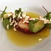 Hummermedaillon | Eingelegte Ananas | Basmatireis | Pandansud
