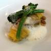 Steinbutt | Misonudeln | wilder Brokkoli | Cashews
