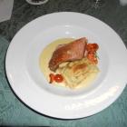 Foto zu Hotel Feiler: Schweinebauch mit Maultasche