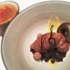 Schokolade und Erdbeere