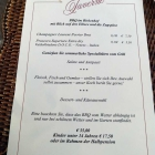 Foto zu Eibsee-Hotel · Restaurant: BBQ-Karte von der Taverne