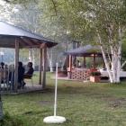 Foto zu Eibsee-Hotel · Restaurant: Grill- resp. BBQ-Pavillon