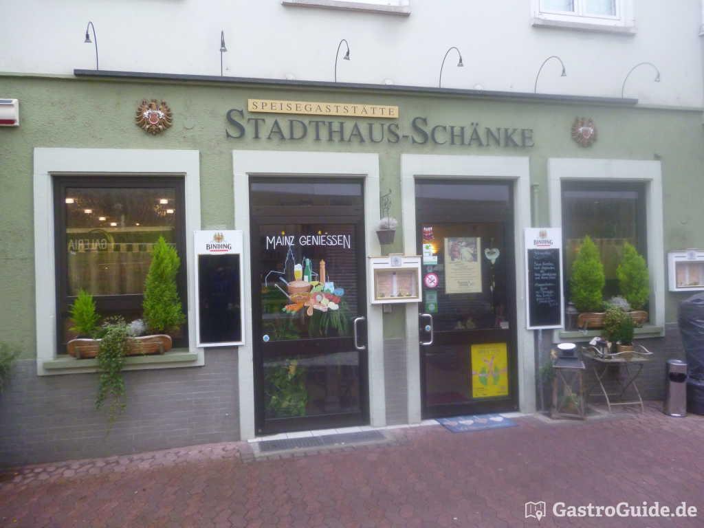 Stadthaus-Schänke Restaurant in 55116 Mainz