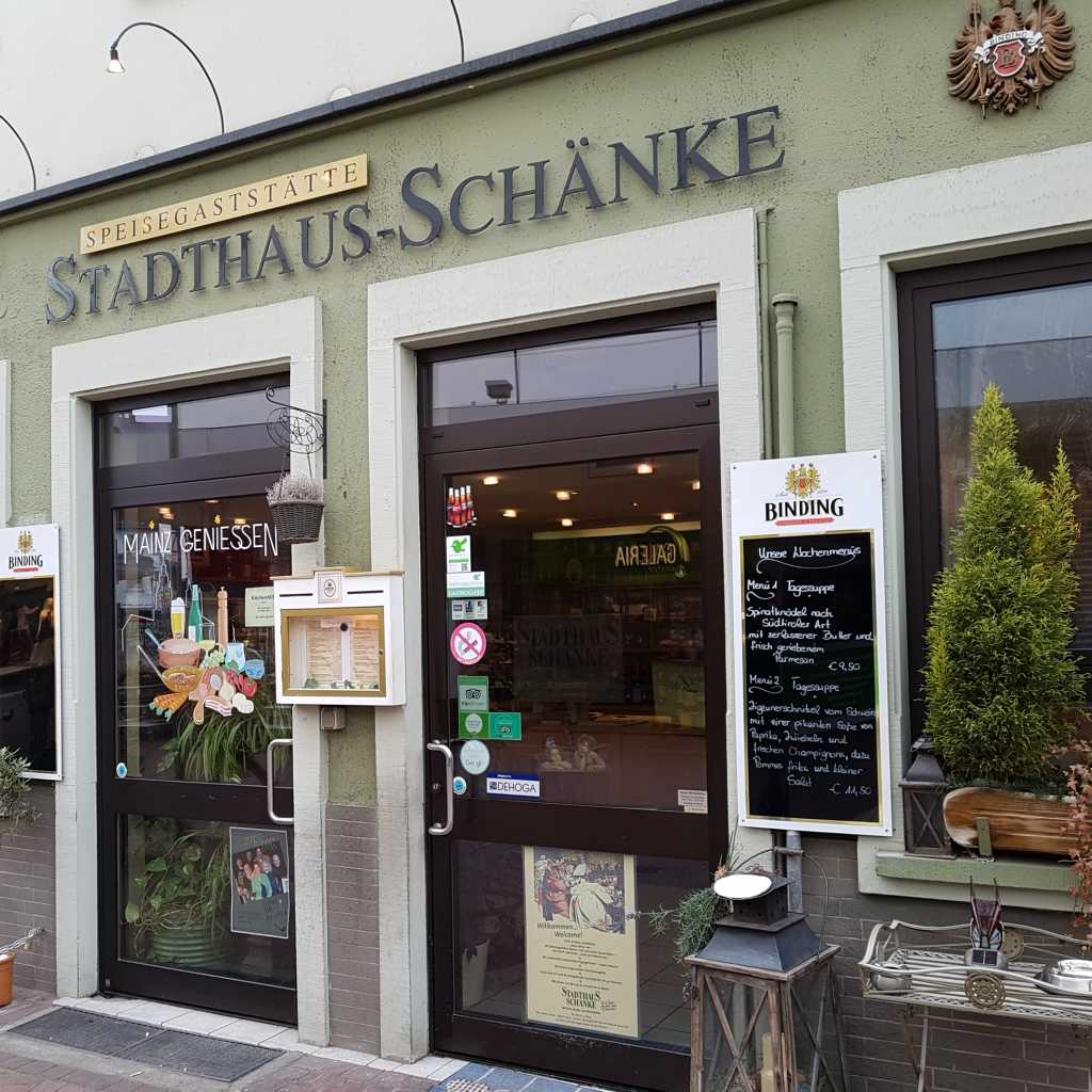 Stadthaus-Schänke Restaurant in 55116 Mainz (Altstadt)