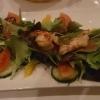 Salat mit Garnelen