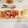 Königs-Schmarrn mit beschwipsten Aprikosen und Sauerrahm-Eis