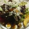 Salat nach Art des Hauses. Vorpeise