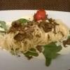 Spaghetti mit schwarzem Trüffel