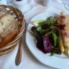 Spargel mit Parmaschinken und Parmesan gratiniert