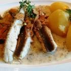 Foto zu Fischrestaurant Blinkfür: Filet vom roten Knurrhahn