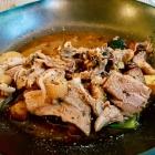 Foto zu Topaz: Schweinefuß-Escabeche, Kürbis, Kartoffel