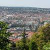 Teehaus Blick auf Stuttgart