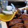 Essens-Deko bei der Pilze Ente