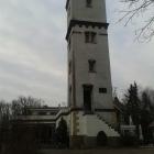 Foto zu Bergrestaurant Schwedenstein: Restaurant mit Turm