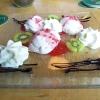 Topfen-Erdbeermousse