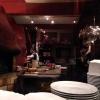 Küche mit Lehmofen