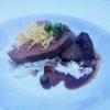 Irish Beef, Kalbsbäckchen, Cole-Slaw, Kartoffelstroh