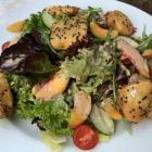 Foto zu Gottesgabe: 12.8.20 Salat mit gebackenem Ziegenkäse