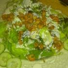 Foto zu Pfälzer Hof: Salatteller mit Flußkrebsen